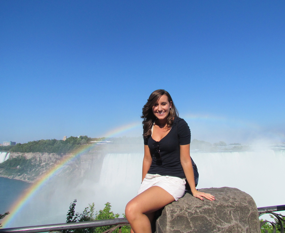 Lauren at Niagara Falls!