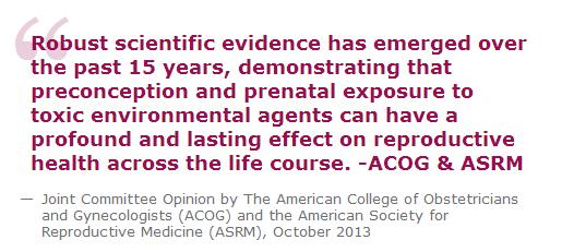 ACOG and ASRM quote