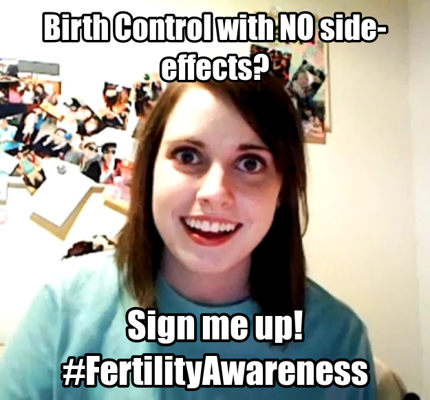 Flowers Fertility Natural Birth Control meme