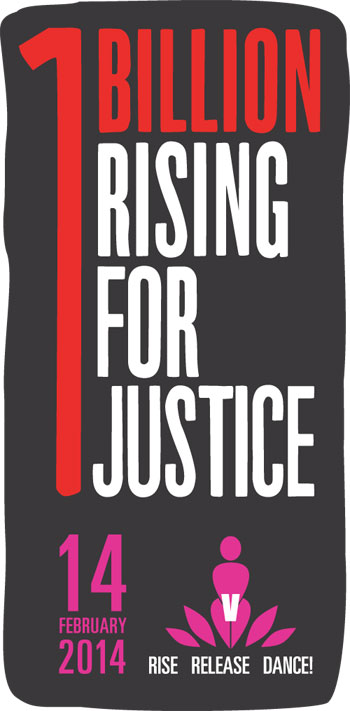 I will #Rise4Justice! On 14 February 2013, one billion people in 207 countries rose and danced to demand an end to violence against women and girls. On 14 February 2014, we are escalating our efforts, calling on women and men everywhere to RISE, RELEASE, DANCE, and demand JUSTICE! JOIN me! Watch the new short film!   http://bit.ly/158vNS5