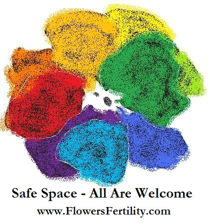 Flowers Fertility Awareness LGBTQ Safe Space