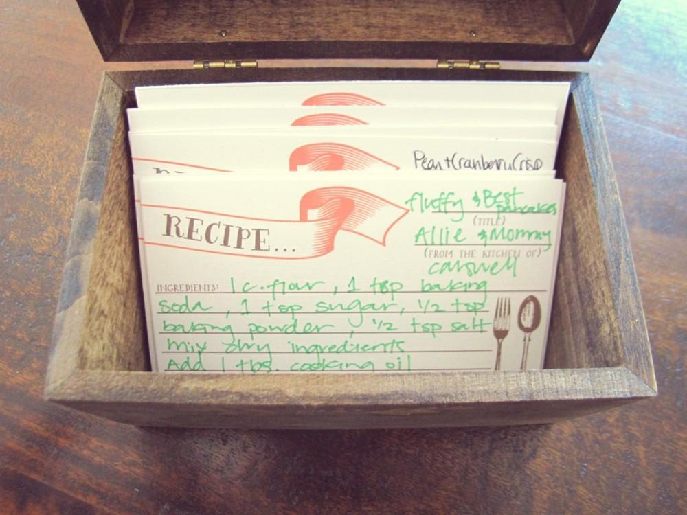 HBI Recipe Card