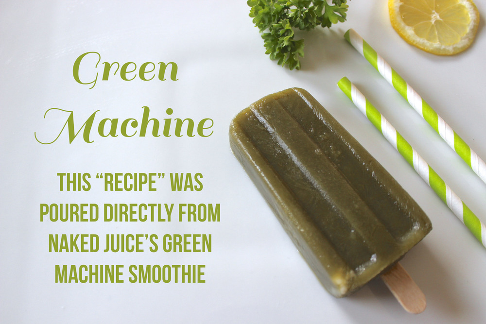 Green Machine Popsicle | weekendingblog.com