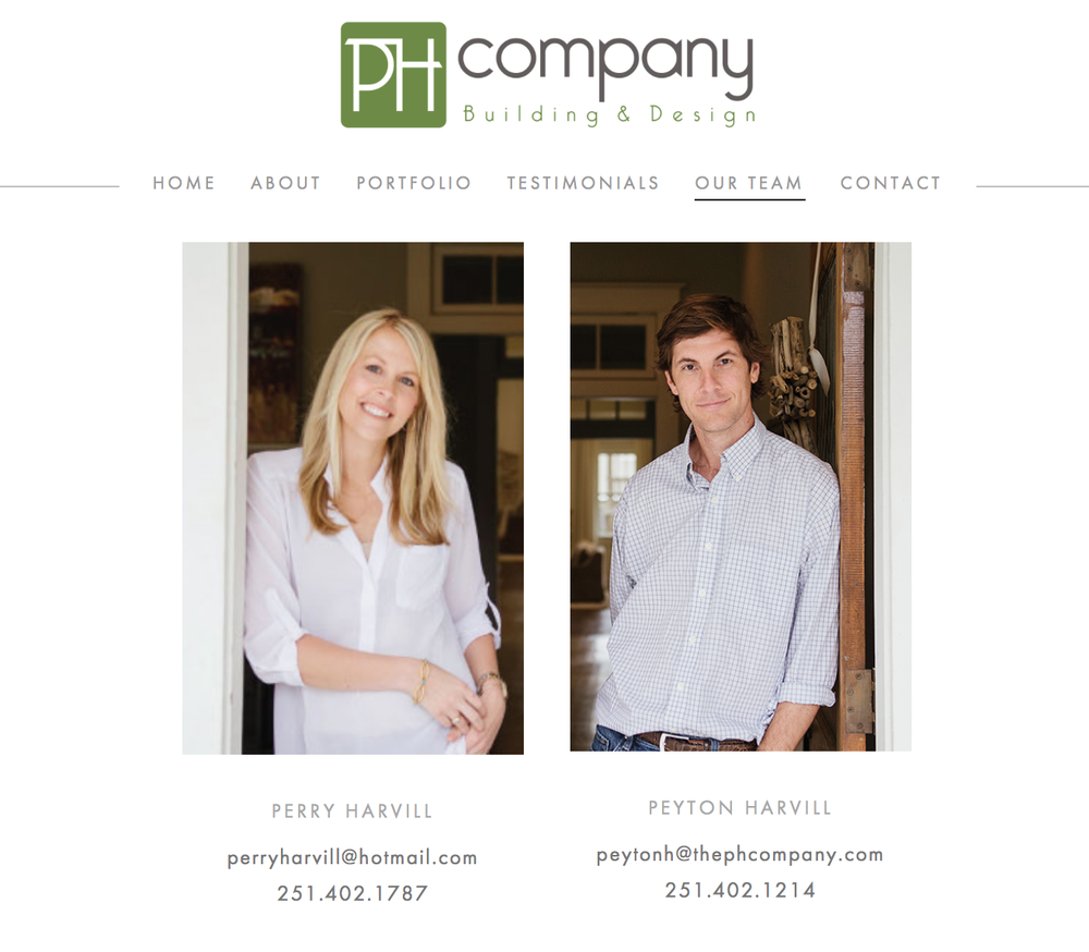 PH Company | Peyton and Perry Harvill in Mobile, AL