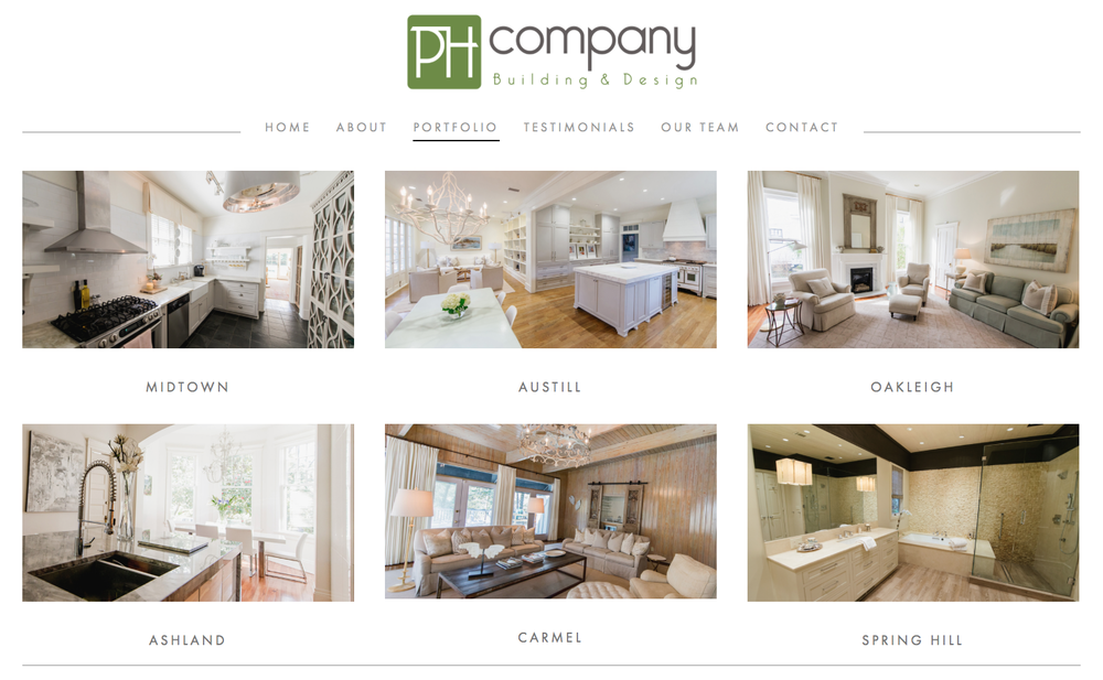 PH Company Building and Design in Mobile, AL
