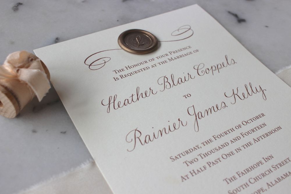Custom Invitations | Victoria Austin Designs