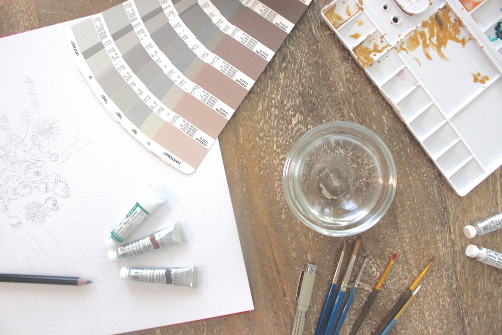 Victoria Austin Designs | Blog | Watercolor Supplies