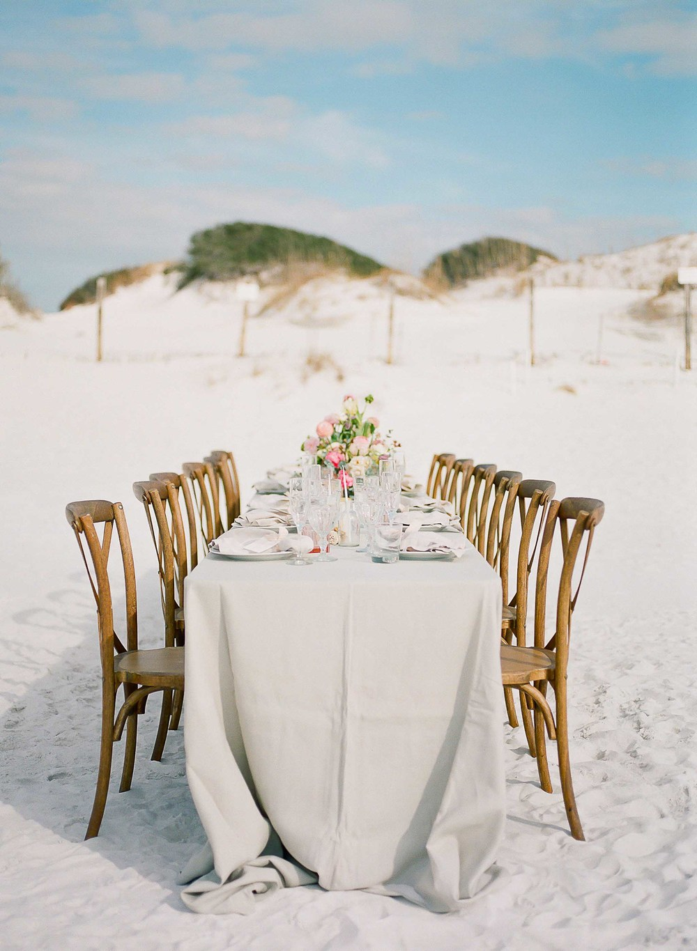 Kaylie Poplin Photography and Victoria Austin Designs on Style Me Pretty | Beach Bridal Shower