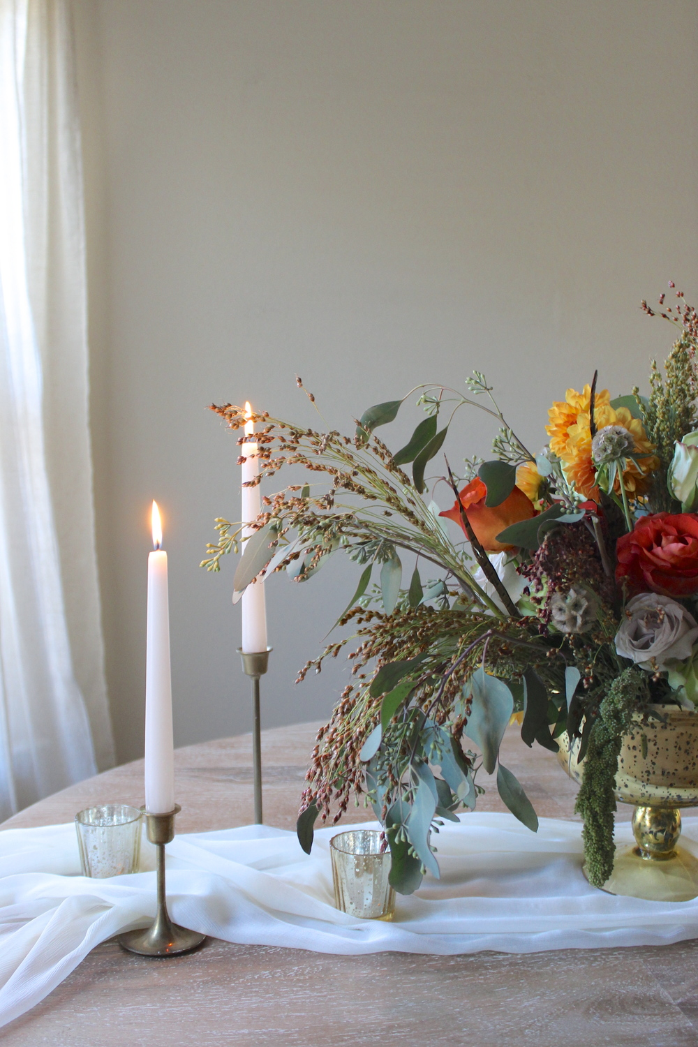 Victoria Austin Designs | Thanksgiving Centerpiece