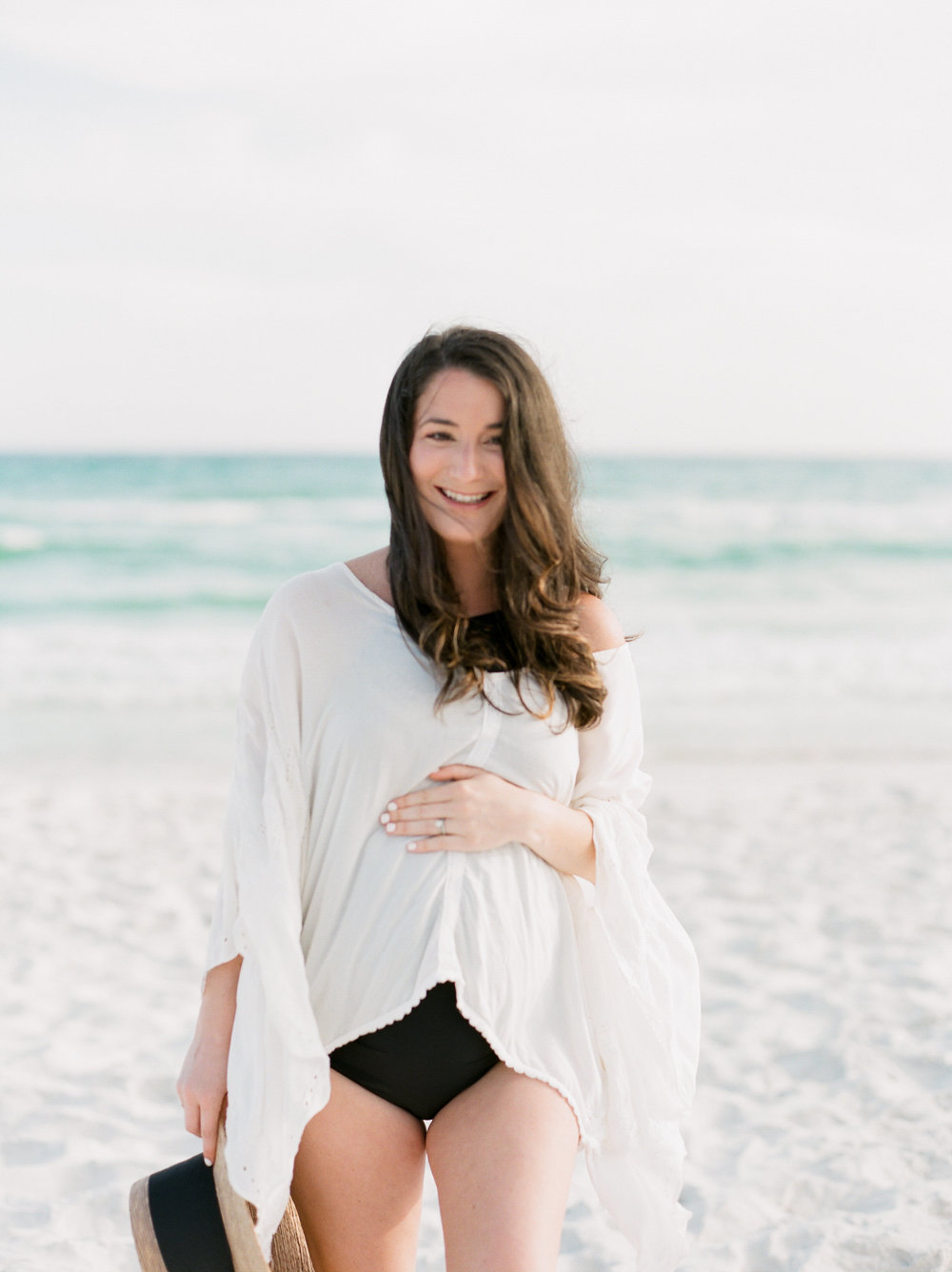 Beach Maternity Session | Kaylie Poplin Photography | Victoria Austin Designs