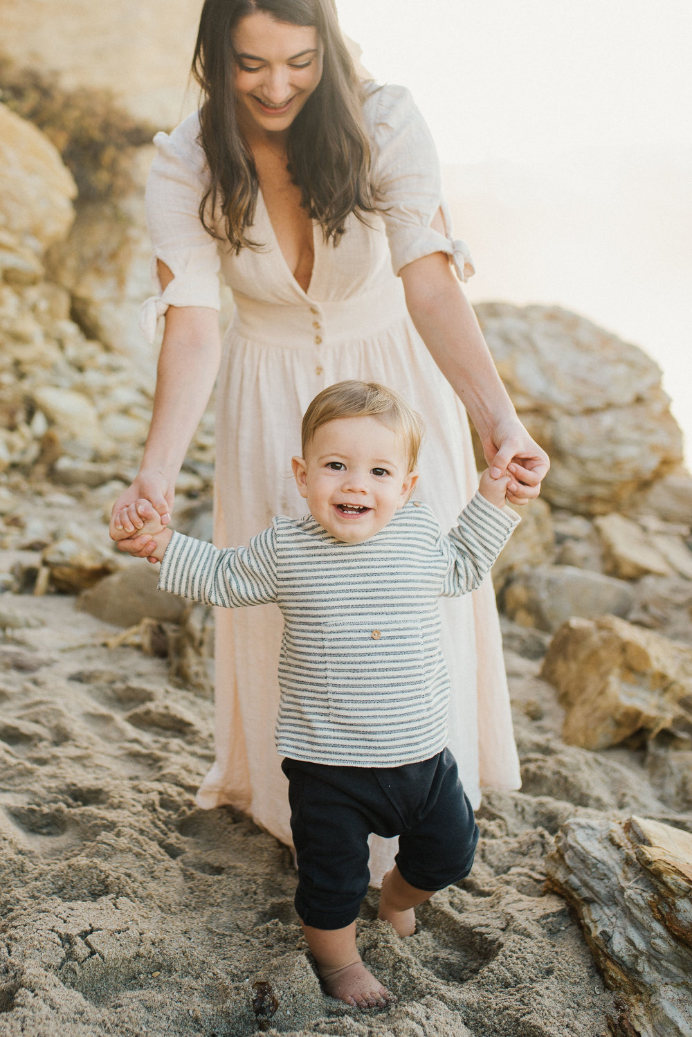 One Year Baby Boy | Newport Beach Photographer, Sonja Hammad | Victoria Austin