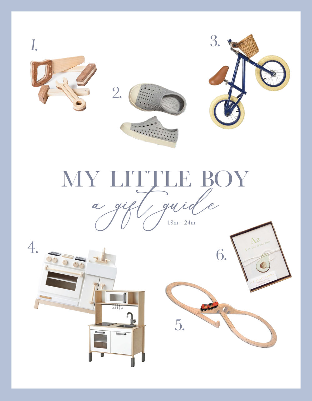Little Boy Gift Guide | 18-24m | Victoria Austin