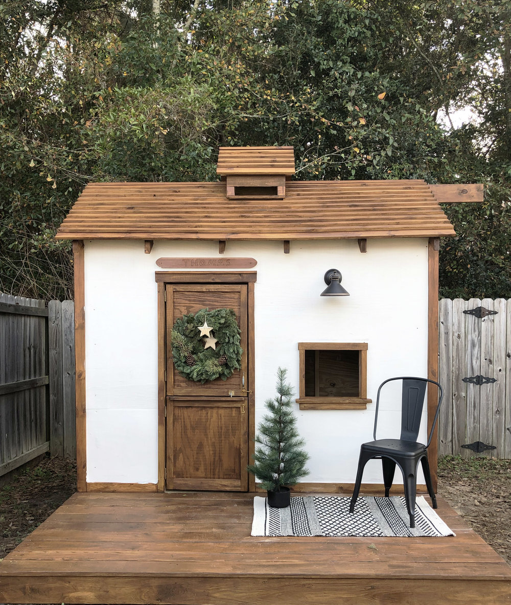 Backyard Custom Playhouse for Kids | Victoria Austin