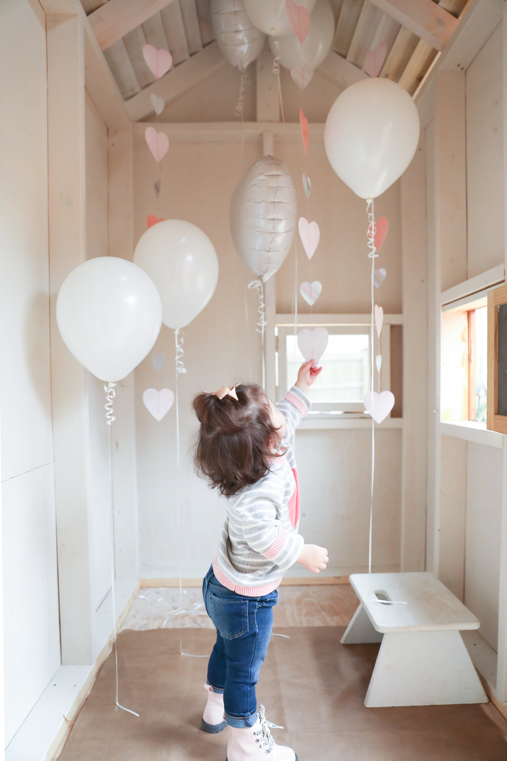 Playhouse Party | Toddler Valentine's Party