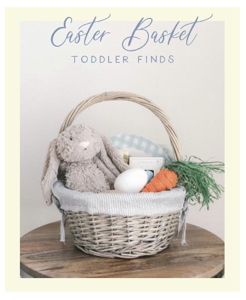 Toddler Easter Basket Finds | Victoria Austin