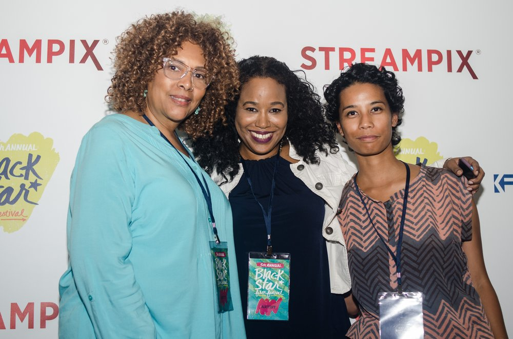 2016 BlackStar Film Festival.  With fellow filmmakers Julie Dash (Daughters of the Dust) and Sabrina Gordon (BadddDDD Sonia Sanchez).