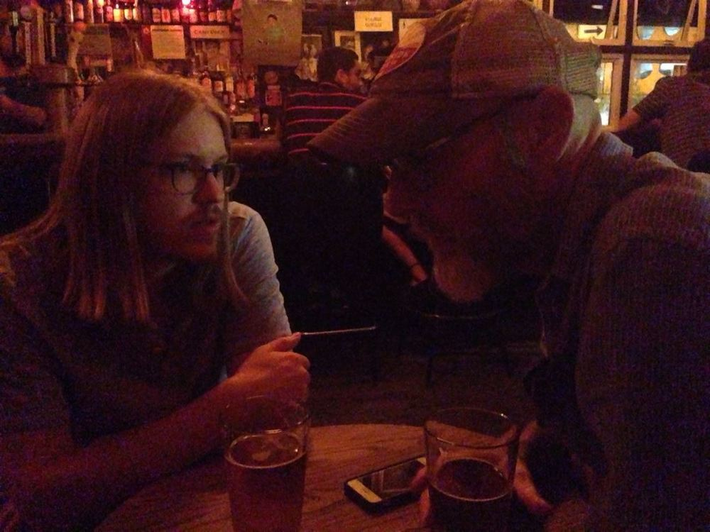 At Old Town Ale House with Jay and Kaitlyn