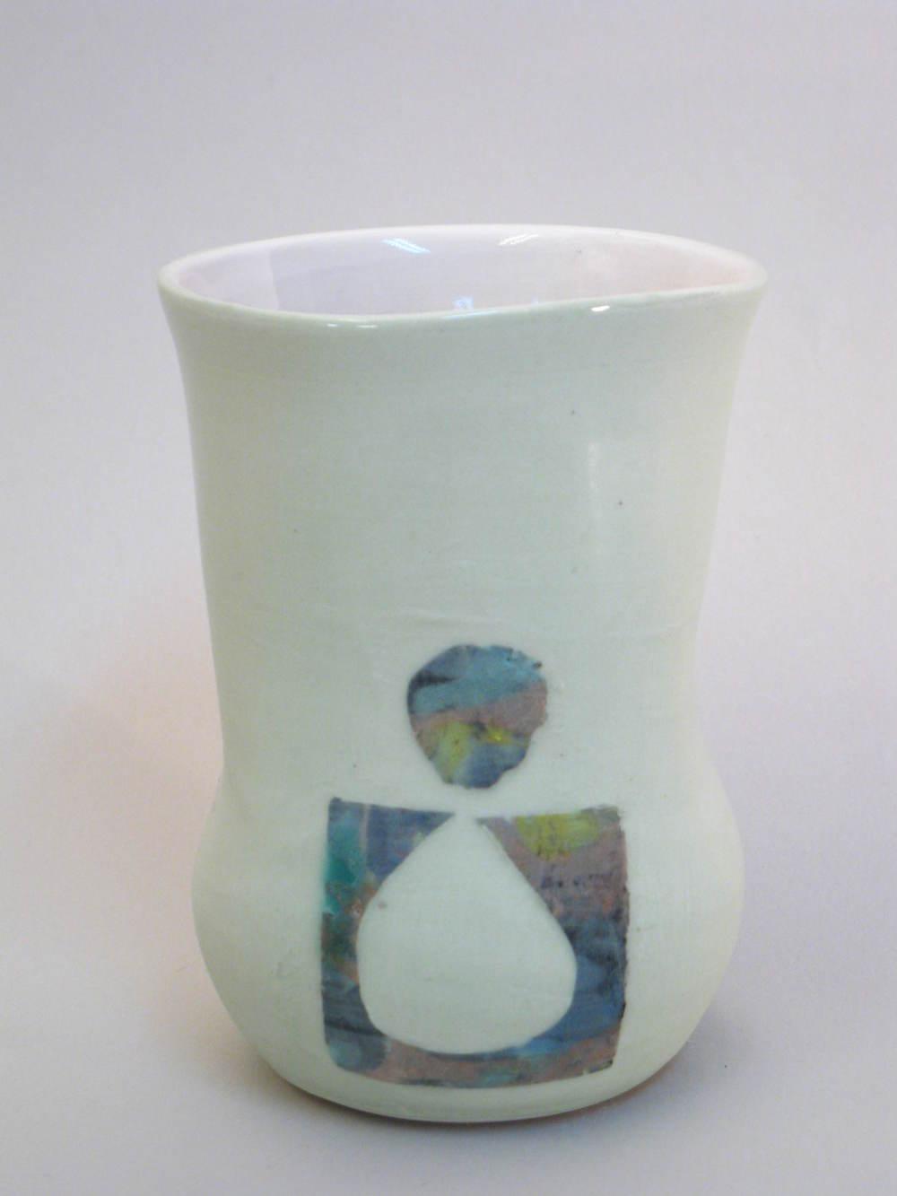 Cup (or Vase) 13X8 cm