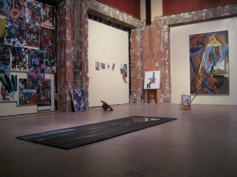 Installation view of No Art Today, INMO Gallery. LA, CA, 2007.
