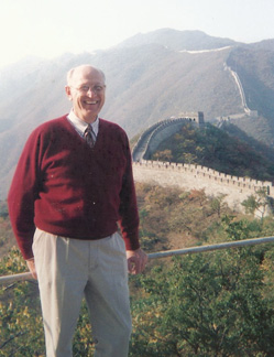 Visiting the Great Wall, 2005