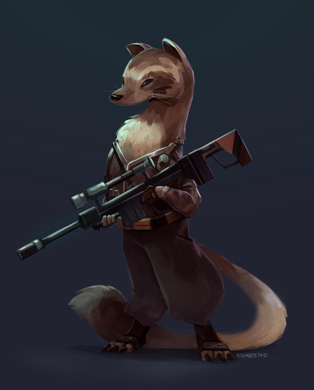 Weasel Sniper