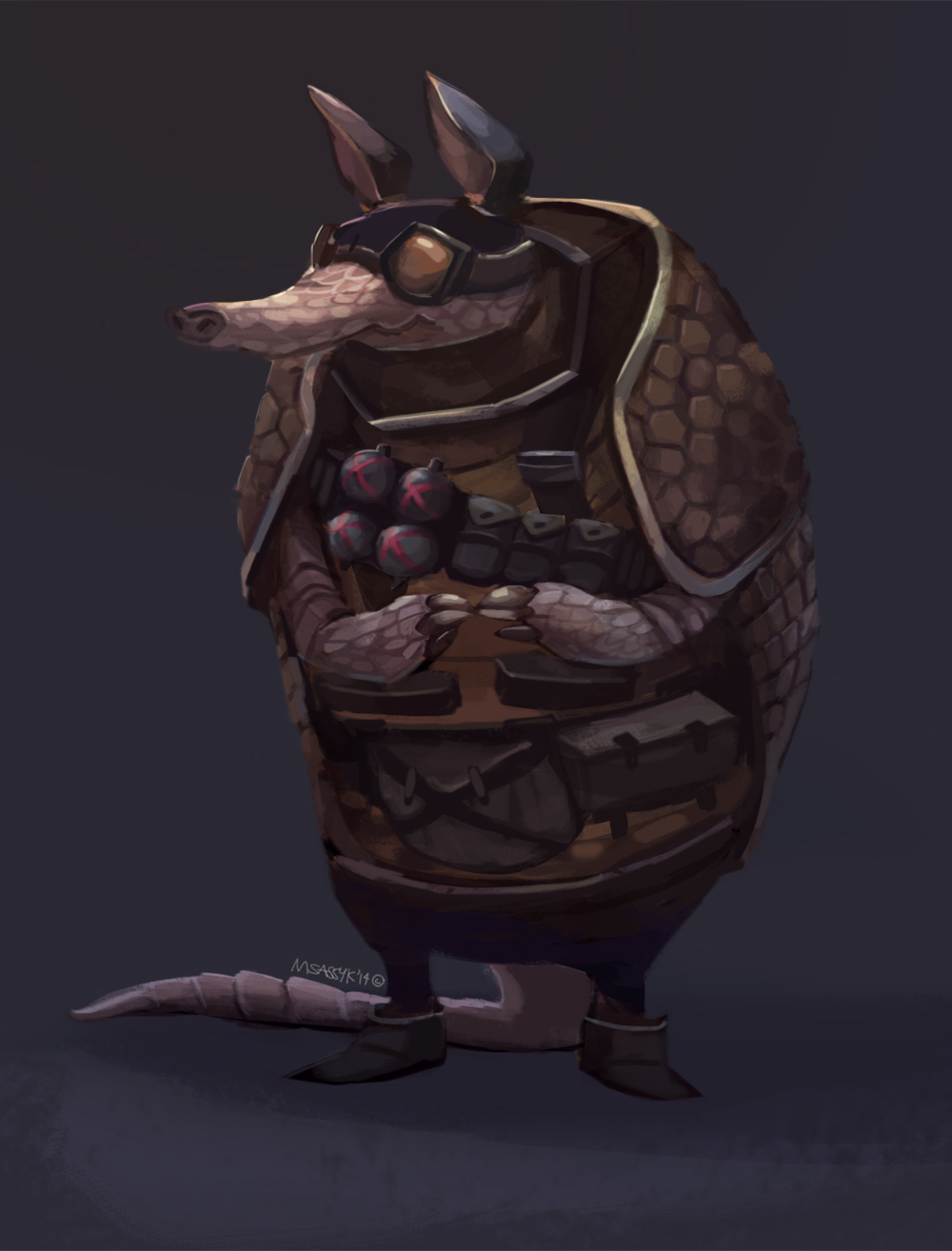 Armadillo Grenadier