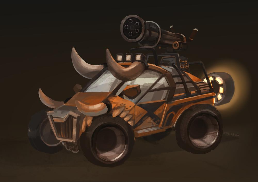 Warthog dunebuggy