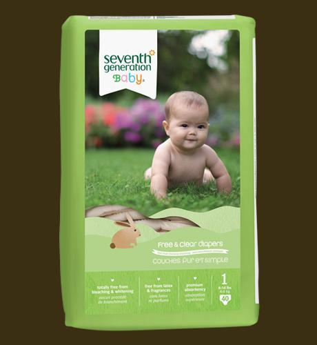 Seventh Generation Stage 1 DIapers Wants 2 - PURCHASED