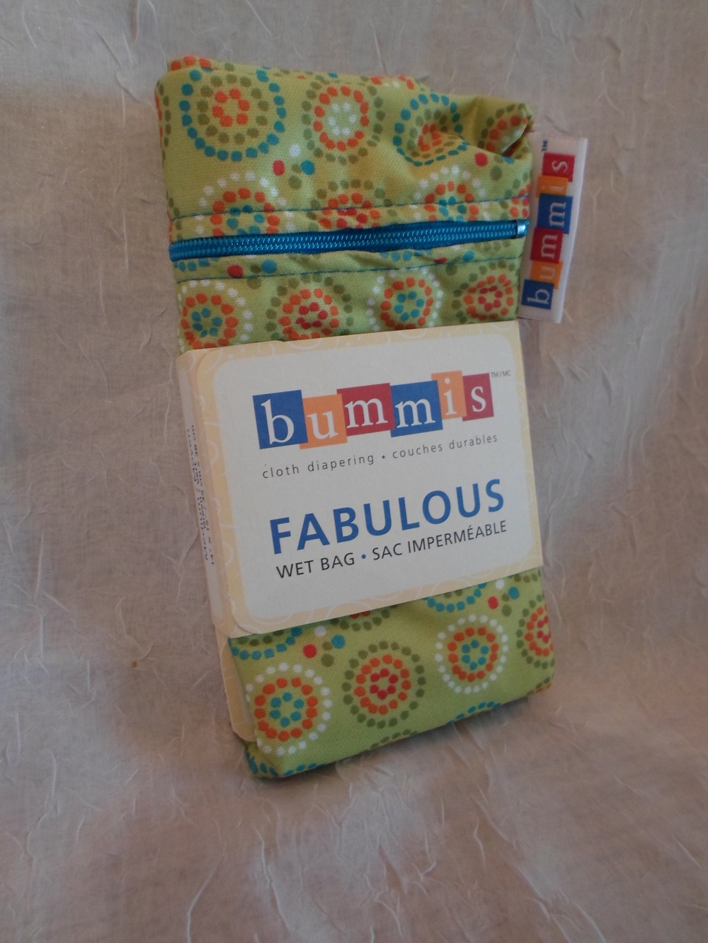 Bummis Small Wet Bag in green $14.95 Wants 1 - PURCHASED