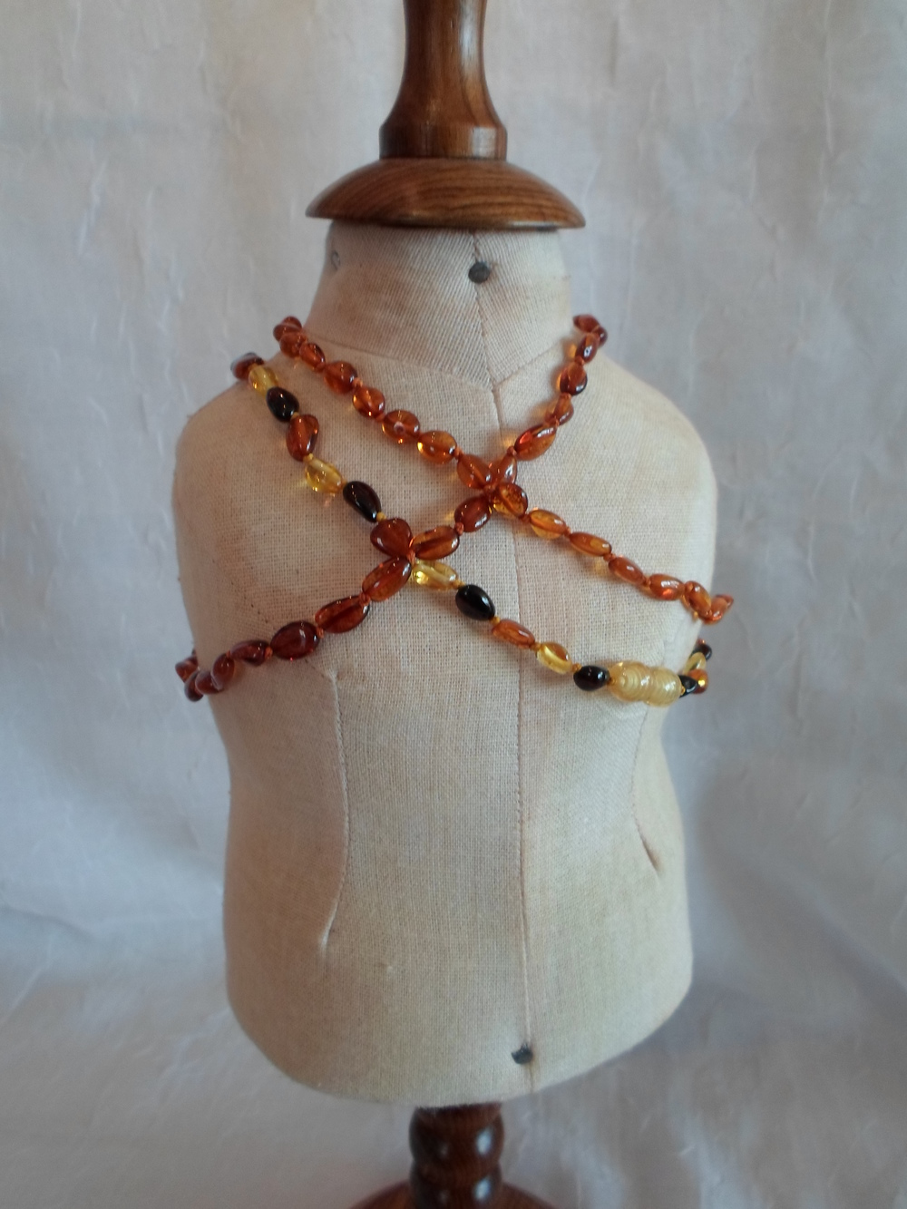 Amber Teething Necklace for Baby    $21    Wants 1