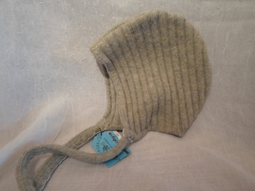 Upcycled Wool Baby Cap -  Locally Handmade   $17    Wants 1 PURCHASED