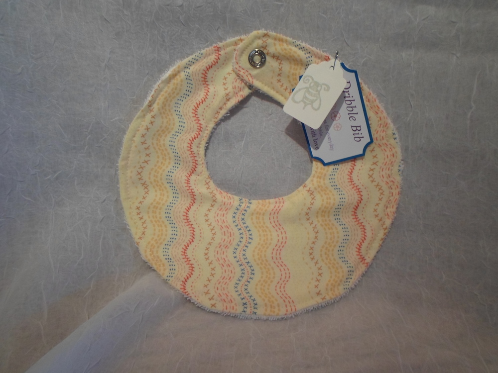Dribble Bib- Locally Handmade $7.50 Wants 1 PURCHASED