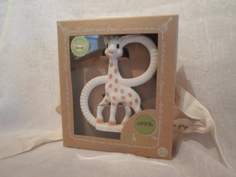 Sophie Natural Rubber Teether    $15.95    Wants 1 PURCHASED