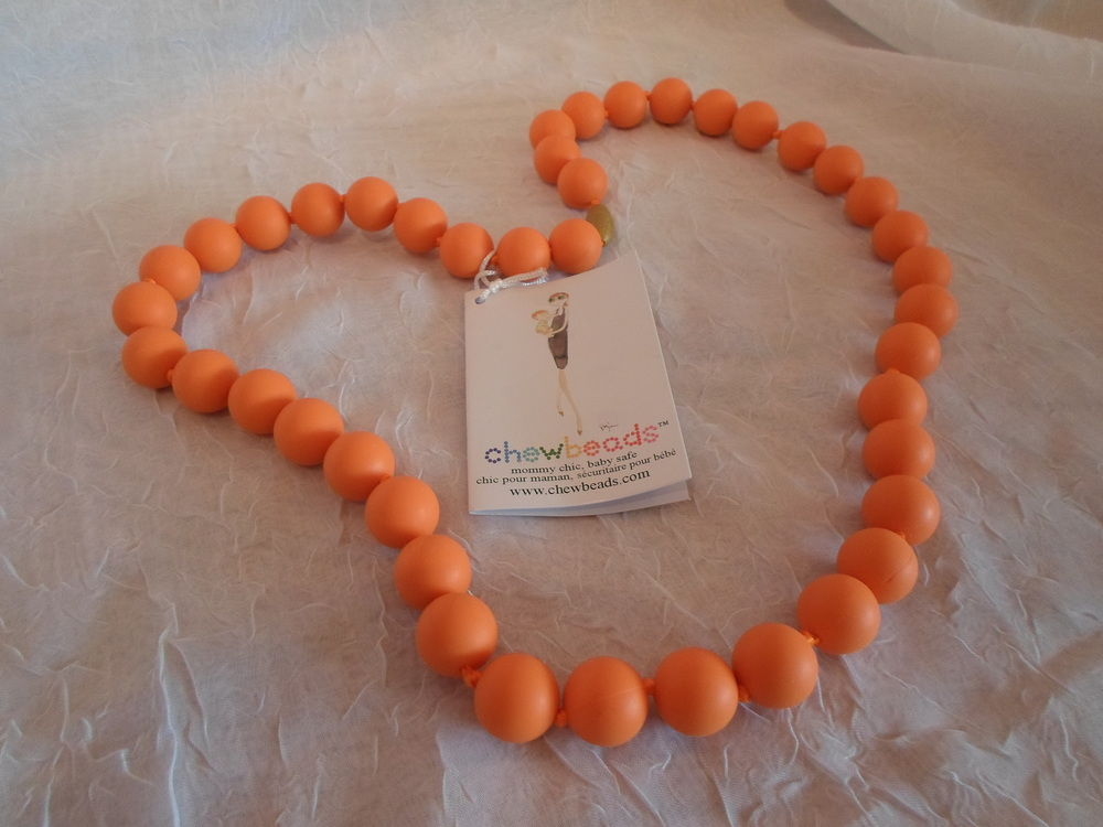 Chewbeads Jane Necklace for mom- Orange $29.50 Wants I - PURCHASED