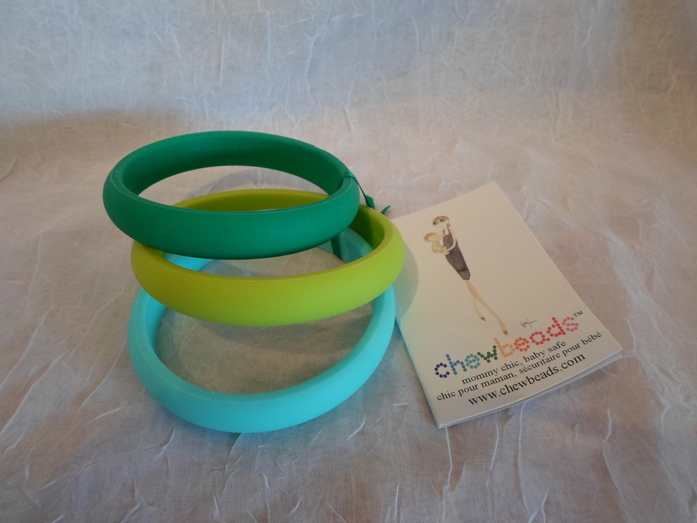 Chewbeads Skinny Charles Bangle set in Green $19.50 Wants I