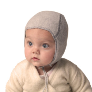 LanaCare Wool Baby Hat in Soft Grey size 9-12m $34.00 Wants 1