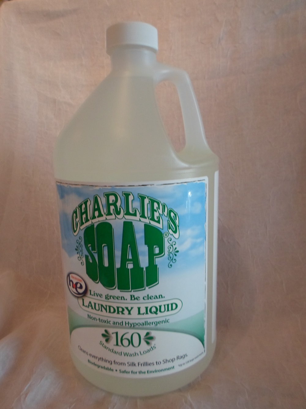 Charlie's Laundry Detergent - 1 gallon $27.40 each Wants 3  - 1  PURCHASED