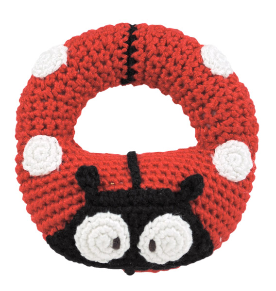 Dandelion Bamboo Ring Rattle- Ladybug $14.95 Wants 1 - PURCHASED