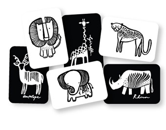 Black and White Card Set - Safari    $12.95    Wants 1  PURCHASED