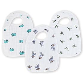 Aden & Anais Snap Bib 3pk in Jungle Jam    $20.00    Wants 1