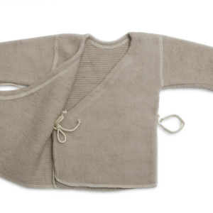 LanaCare Organic Merino Wool Wrap Sweater size 0-3m in soft sand $56.50 Wants 1 - PURCHASED