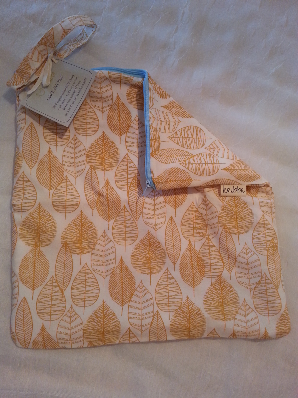 Kribbe Organic Travel Wet bag size Large   Locally Handmade   $23.00    Wants 1 PURCHASED