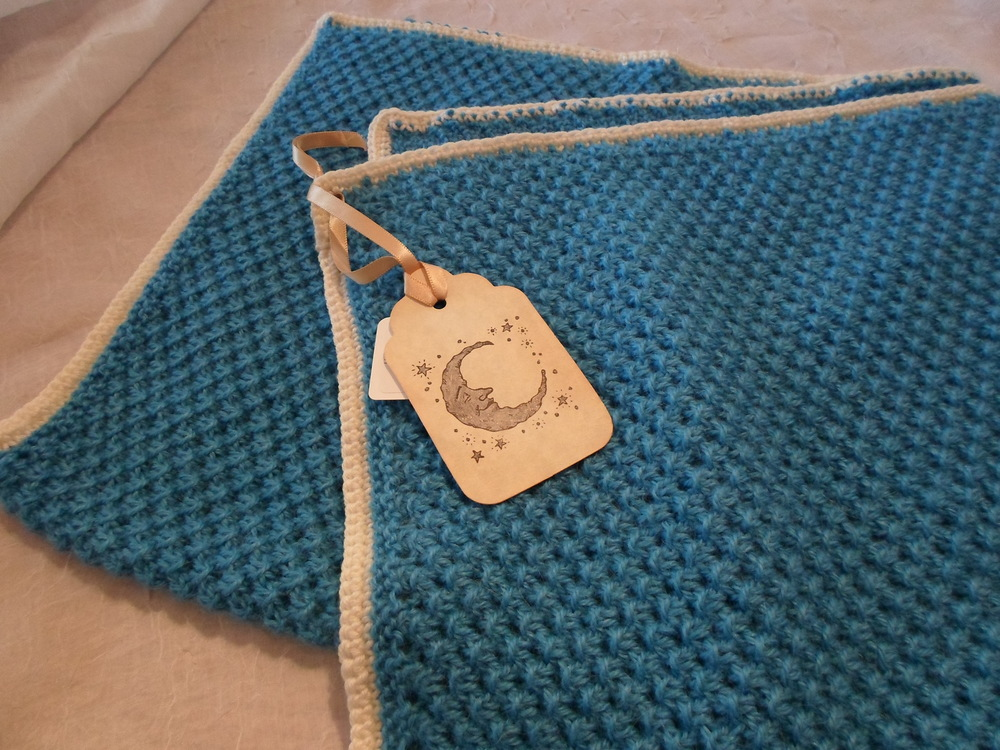 Hand Knit Baby Alpaca Wool Blanket Locally Handmade & one of a kind $120.00 Wants 1 PURCHASED