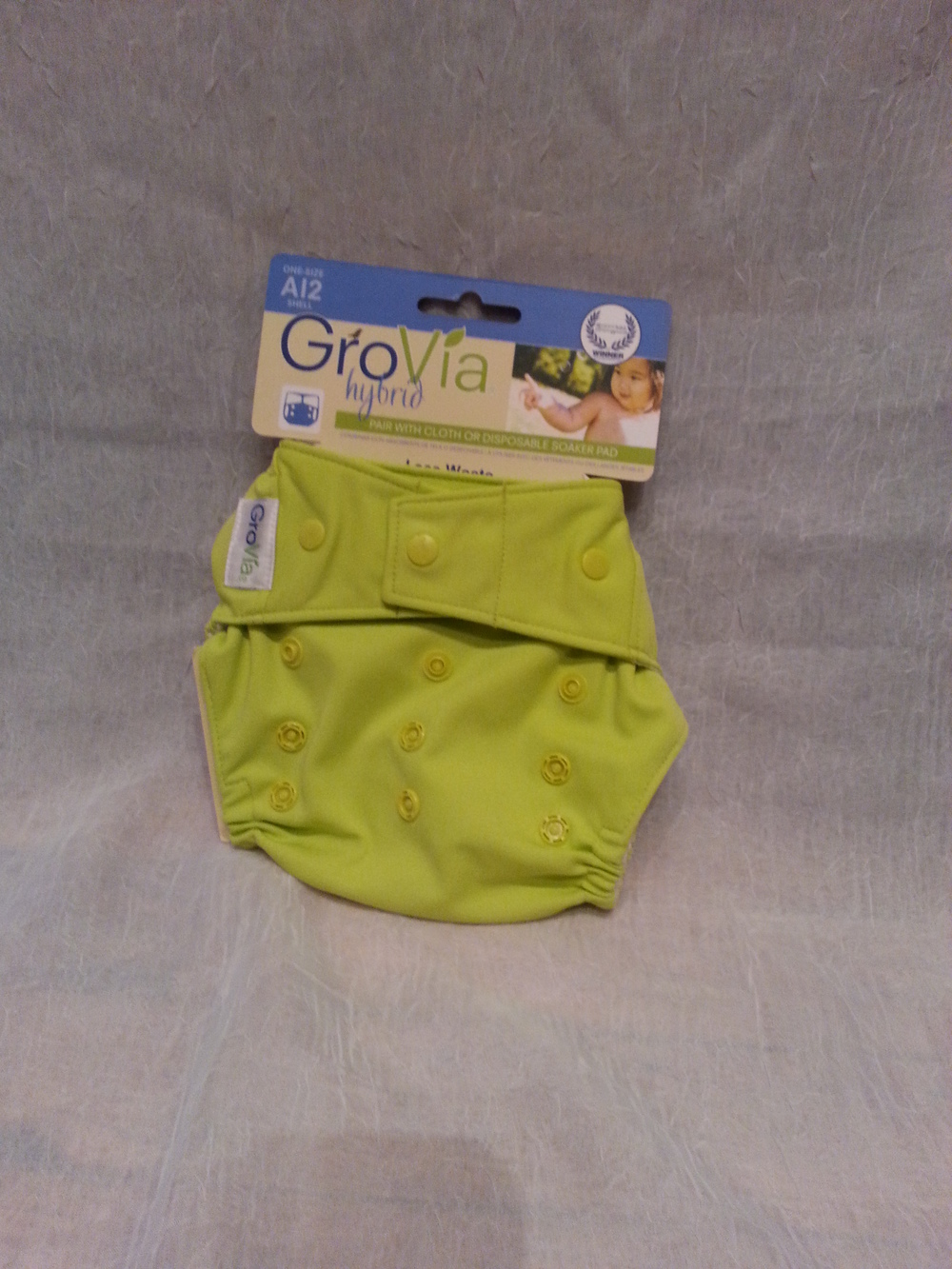GroVia Cloth  Diaper Cover in Citrus $16.95 Wants 1 PURCHASED