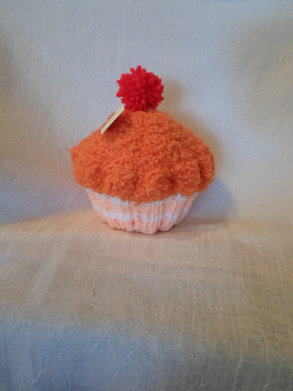 Cupcake Hat in Orange  Locally Handmade   $27.95    Wants 1 PURCHASED