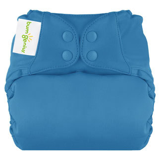 bumGenius Elemental All-In-One One-Size 100% Organic Cloth Diaper $24.95ea Wants 3 in Moonbeam  PURCHASED