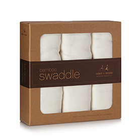Aden & Anais Bamboo Swaddle 3pk     $45.00    Wants 2 purchased