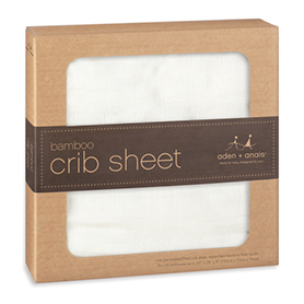 Aden & Anais Bamboo Crib Sheet in Earthly    $34.95    Wants 1
