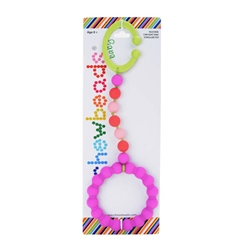 Chewbeads Stroller Toy in fuchsia    $15.00    Wants 1 purchased