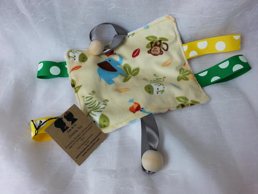 Crinkle Toy  Handmade Locally   $9.95    Wants 1  purchased